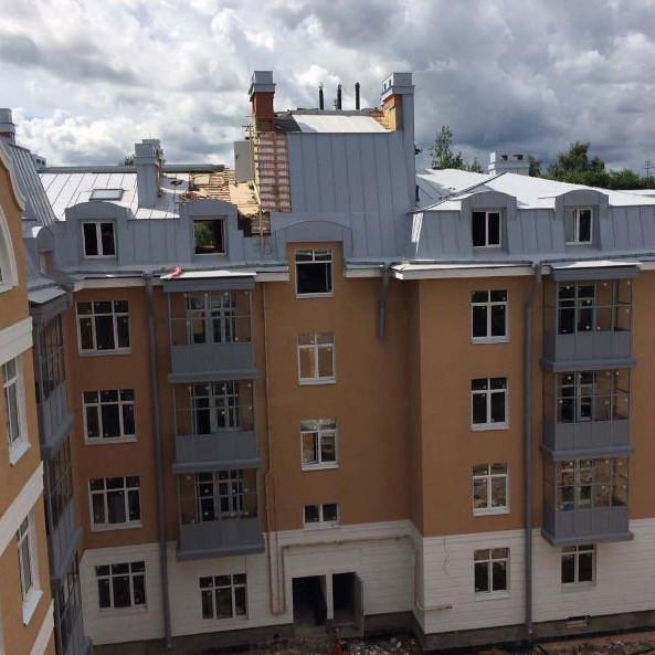 Ход работ в ЖК Пушкин House сентябрь 2017 год